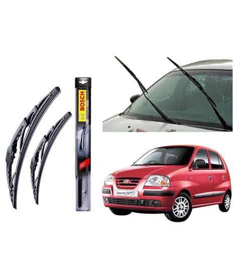 Wiper Blade 20 Bosch Clear Advantage Frameless bosch clear advantage wiper blades for hyundai santro 20 quot 17 quot inches set buy bosch