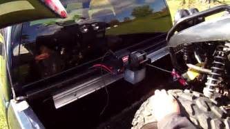 bed winch system cargo buddy or trailer