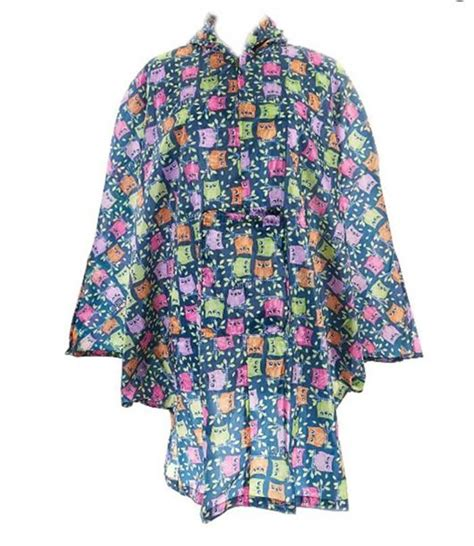 Eco Chic Fashion Ethics Show In Oxford 16 March by Womens Eco Chic Poncho Mac In Bag Coat Cing