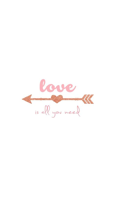 girly arrow wallpaper quot love is all you need quot rose gold arrow vector free