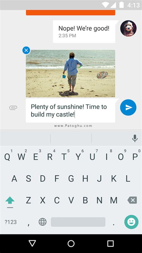 مسنجر گوگل برای اندروید messenger v2 1 060 دانلود