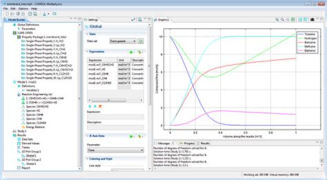 Chemical Reaction Engineering comsol announces chemical reaction engineering module