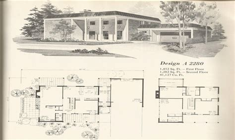 bi level house floor plans 1970s bi level house plans 1970s house plans vintage