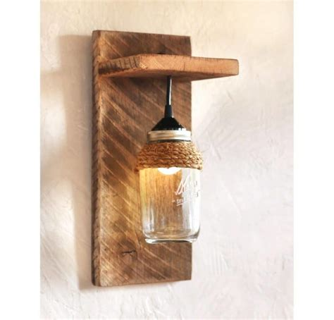Lichtwand Selber Bauen by Jar Farmhouse Wall Sconce Id Lights