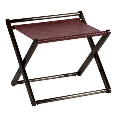 bed bath and beyond luggage rack buy gramercy luggage rack from bed bath beyond