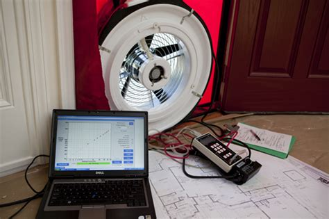 Blower Door Test Equipment by Testing For Air Leakage Florida Home Energy