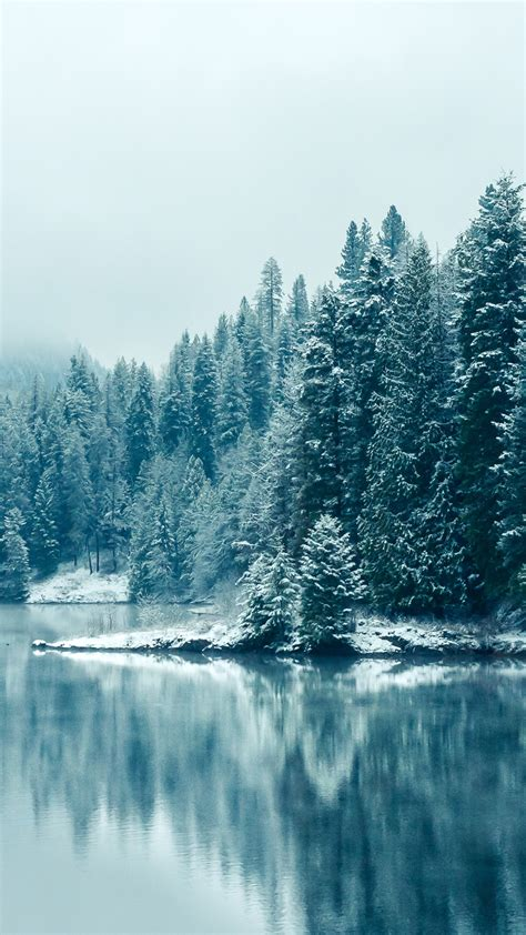 free winter wallpaper for iphone 5 winter lake iphone wallpaper hd