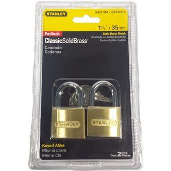 Gembok Kuningan 35mm Solid Brass Padlock Stanley 1 stanley cd8720 2 2 pc set ka brass padlock eezee pte ltdeezee pte ltd