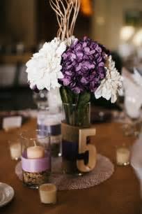 purple centerpieces ideas a collection of beautiful rustic purple wedding