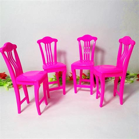 ᐊ4pcs lot pink nursery baby baby high chair table chair