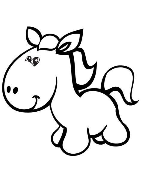 coloring pages of cartoon horses cute cartoon pony horse coloring page h m coloring pages