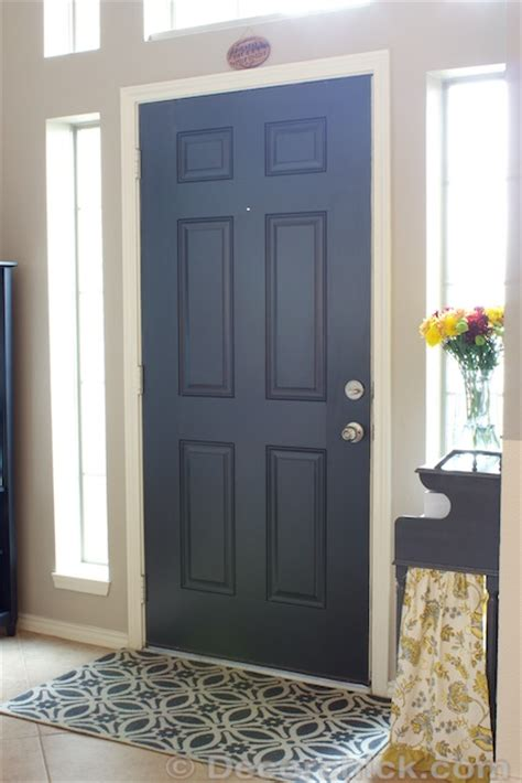 Painting Doors Black by More Painted Interior Doors Before And After Decorchick