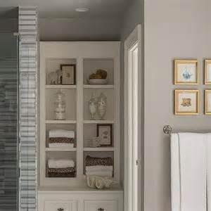 next bathroom shelves built in bathroom shelves design ideas