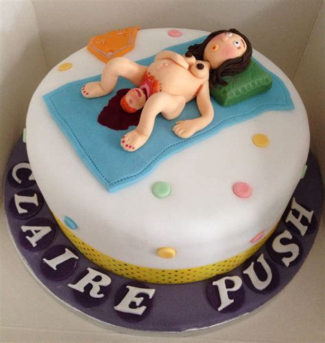 Baby Shower Hers by Vulgar Baby Shower Cake Giving Birth A