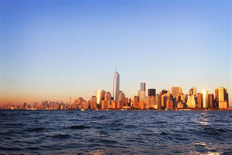 nyc boat tours from jersey city sunset boat tour of nyc kevin amanda