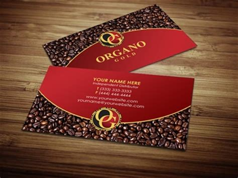organo gold business card template organo gold business cards gallery business card template
