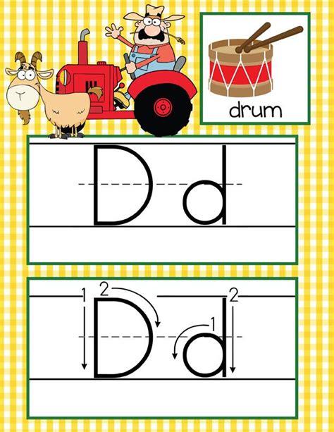 printable d nealian alphabet flash cards farm alphabet cards handwriting abc flash cards abc