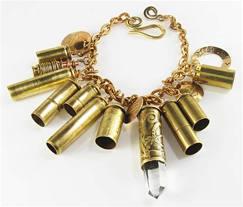 how to make bullet shell jewelry bullet shell rock point bracelet jewelry by