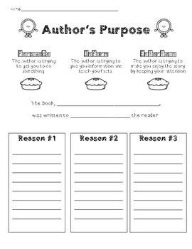 Author Purpose Worksheet by 17 Best Ideas About Author S Purpose Worksheet On