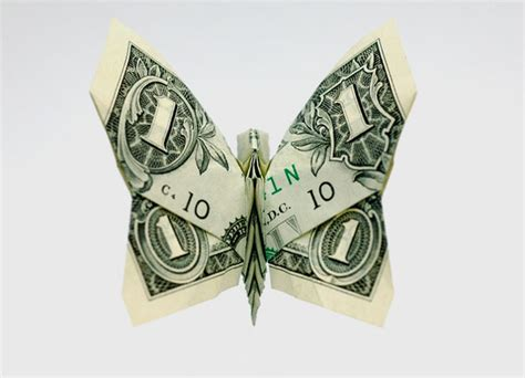 Single Dollar Bill Origami - 20 cool exles of dollar bill origami bored panda