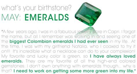 new 780 emerald birthstone meaning birth stones
