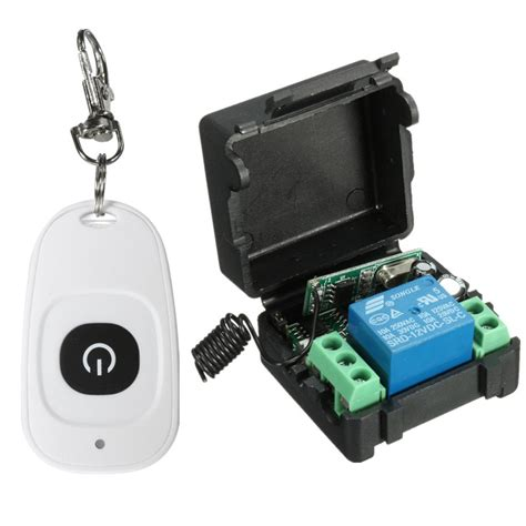 12v Relay 1ch Wireless Rf Remote Switch Transmitter Receiver â Newest Dc 12v 10a Relay á 1ch 1ch Wireless Rf Remote á ç à Switch Switch Transmitter