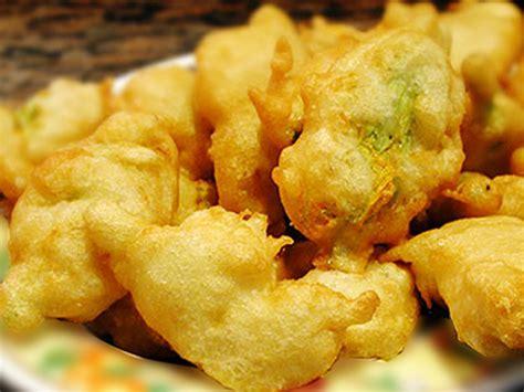 fiori di zucca fritti in pastella birra finocchi fritti in pastella di birra