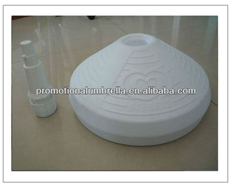 Fill L Base by 10l Water Sand Filled Printed Promotional Umbrella Base Parts Buy Umbrella Base Parts