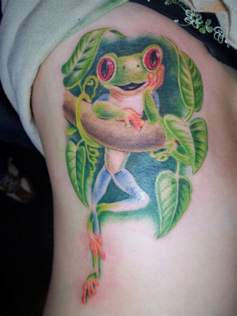 happy tattoo designs frog tattoos the top 25 frog designs from around