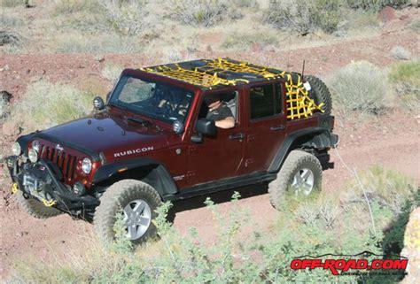 Jeep Aspen Installing Aspen Cargo Nets And Bestop Element Doors