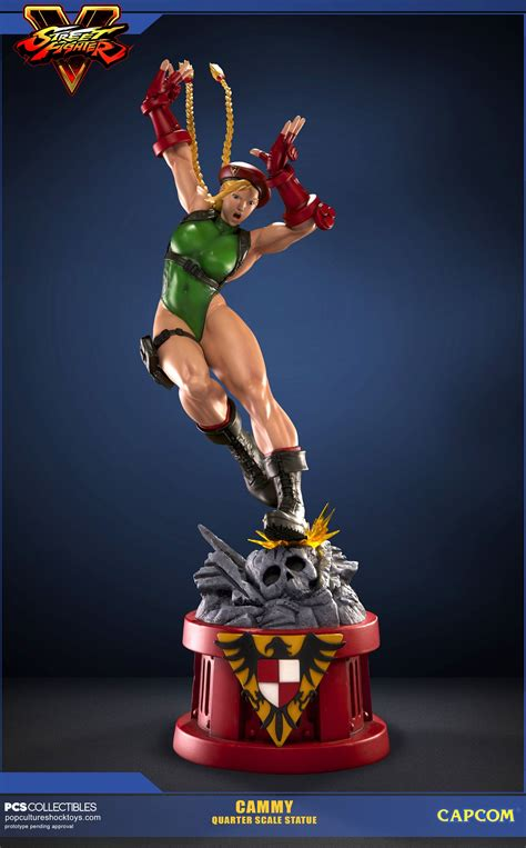 Exlusive Headl Fighter Batok pop culture shock sfv cammy statue preview pre orders now open