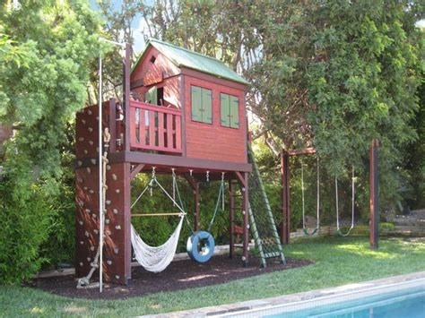 backyard play forts pictures of swing sets with climbing wall barbara butler