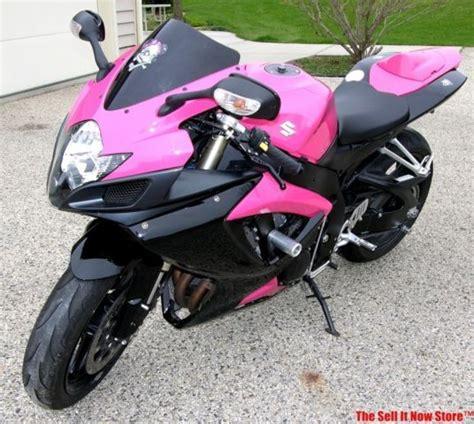Pink Suzuki Motorcycle Factory Pink 2007 Suzuki Gsx R600 Gsx R 600