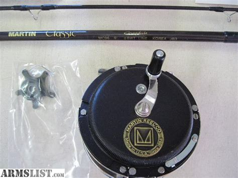 used one fly rod for sale armslist for sale martin fly rod and reel