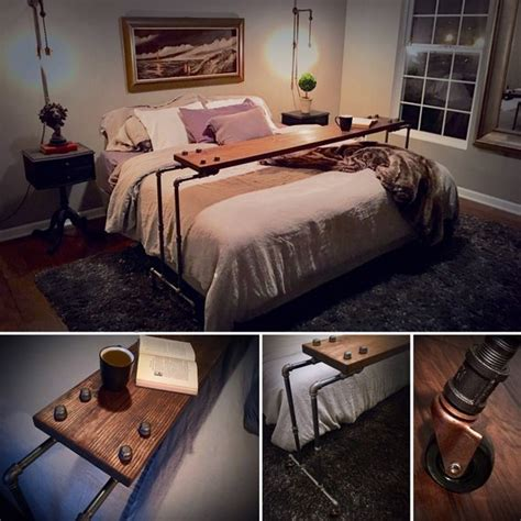 rolling bed table netflix chill rolling the bed table laptop desk