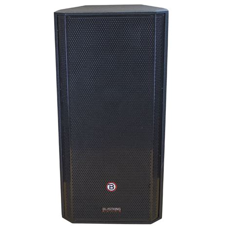 Speaker Legacy 15 Inch dual 15 inch two way powered speaker kxt215a blastking
