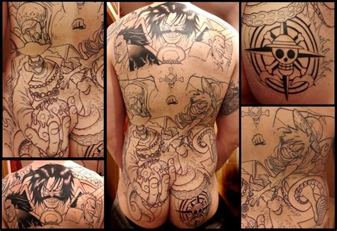 tattoo of ace one piece collection of 25 one piece tattoo