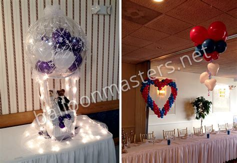 Wedding Balloons   Buffalo Balloon Centerpieces   Balloon