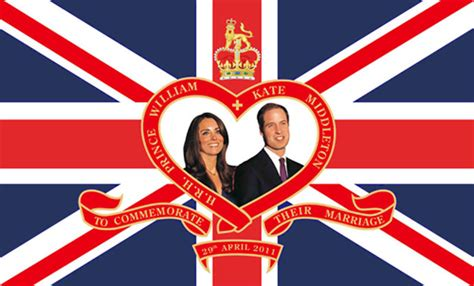 Wedding Banners And Flags by Prince William And Kate Middleton Royal Wedding Flags