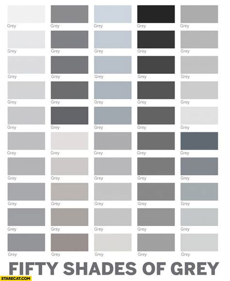 shades of grey color names interesting 60 shades of grey color design inspiration of