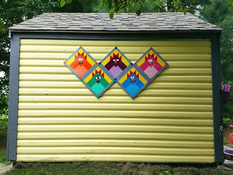 chicken barn  shed quilts barn quilt patterns