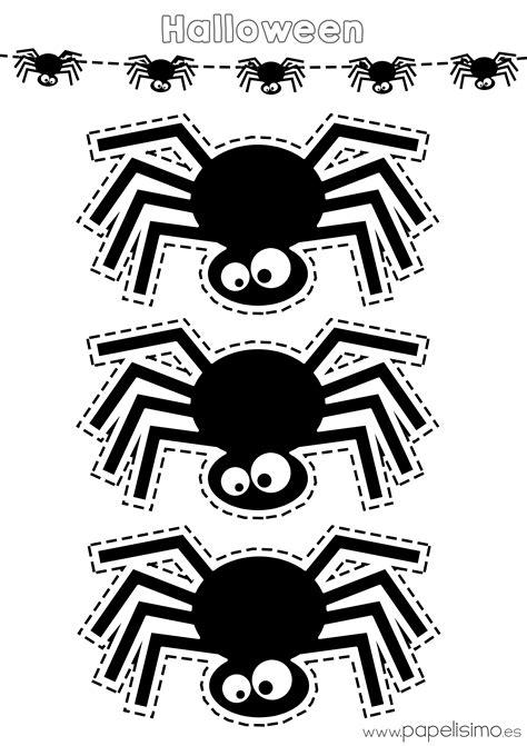 imagenes de halloween infantiles para imprimir halloween para colorear y recortar