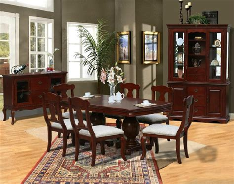 China Cabinet And Dining Room Set by Furniture Amp Modern Home Furniture Amp Diningroom Set Ds 3
