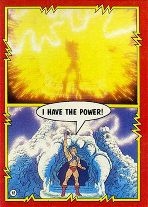 Masters Of The Universe Card Template by 1984 Topps Masters Of The Universe Trading Cards Checklist