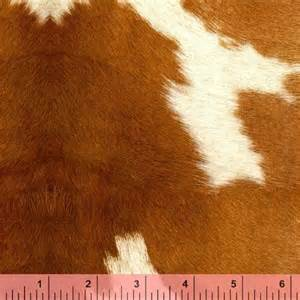 retro griffin cowhide cow hide fabric by