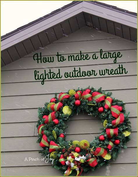 28 best large outdoor wreath for house how to make a