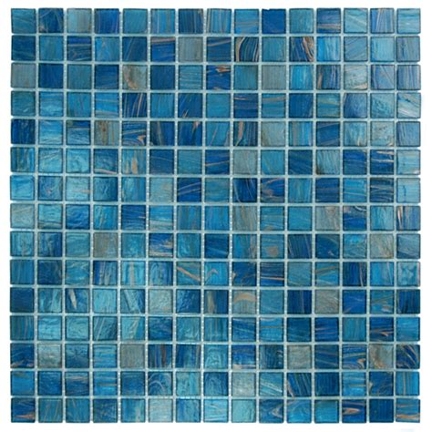 blue mosaic tile agape tile bisazza custom pools murals gem tile