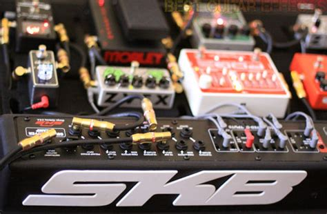 best powered pedalboard skb ps 55 stagefive pedalboard review best powered