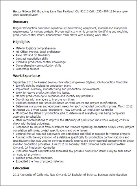 production planner resume resume production planner scheduler birthdayessay x fc2