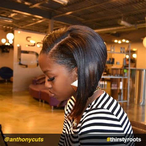 angled bob hair style fors black women 12 stunning haircuts for black women thirsty roots black